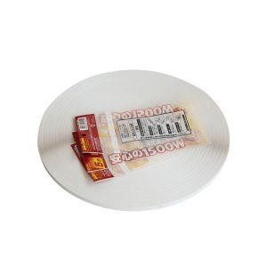 접착 성 영구 주머니 밀봉 테이프