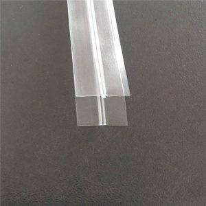 투명한 비닐 봉투 지퍼